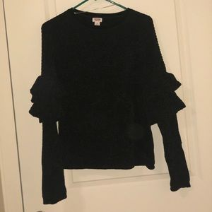Mossimo Frilled Sweater